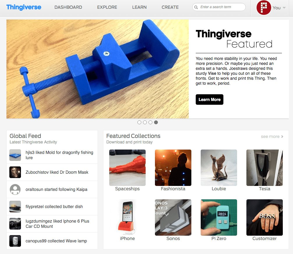10 Websites To Download Free Stl Files 3d Printing Diy